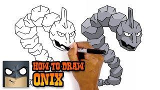 Pokemon | How to Draw Onix (Art Tutorial)