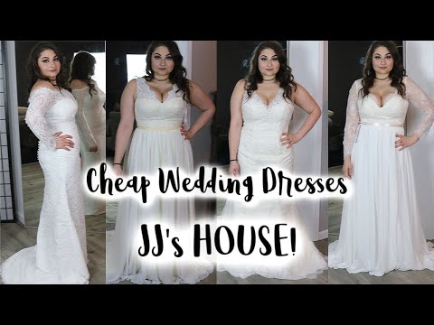 affordable-wedding-dresses-!-jjshouse-wedding-dress-review-|-wedding-dress-try-on