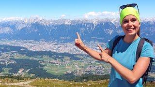 Ein genialer Tag in Innsbruck: Vom Patscherkofel (2.246 m) zu Schloss-Ambras