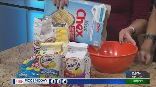 DIY with Jessica Schaer: Fish Food Snack Mix
