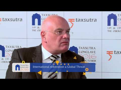 Mike Williams Director, Business & International Tax, HM Treasury @Tax Sutra Conclave 2016!!