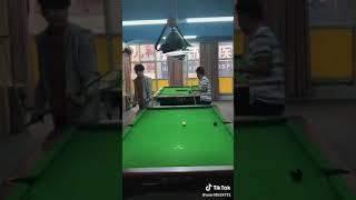 Funny billiards prank