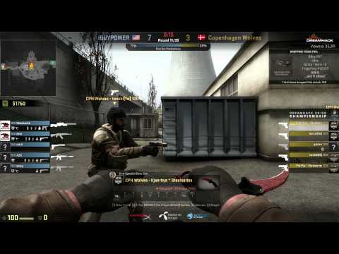 Dreamhack Winter 2014 CS:GO | Group B.2 First Match | iBUYPOWER vs Copenhagen Wolves