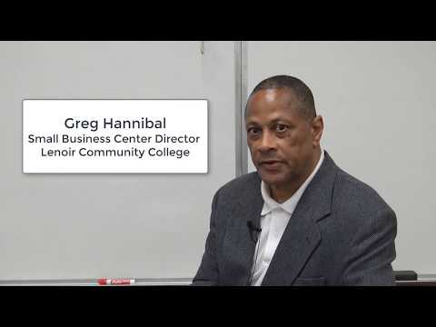 "Small Business Center Network Director Greg Hannibal shares ""Greg's Law"""