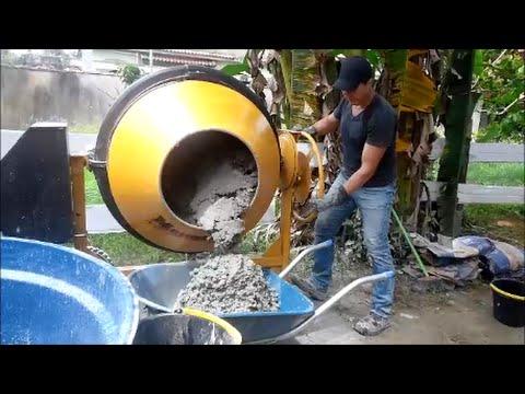 7dac175fe295 Fazendo traço 3 por 1 na betoneira de 400 litros