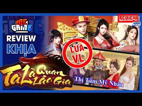 Review Khịa: Ta Là Quan Lão Gia - Đỉnh Cao Game Quảng Cáo Lừa   meGAME
