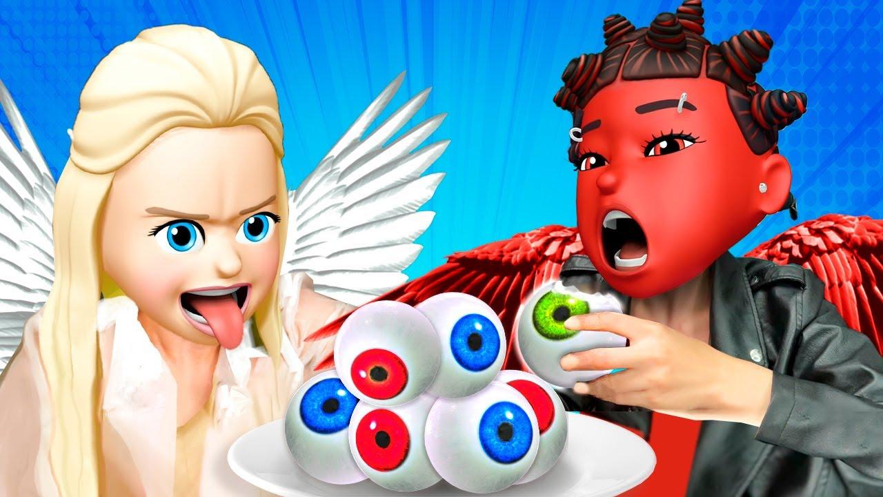 GOOD Girl VS BAD Girl - Who Will Get a ZOMBIE GUY | Funny Girlfriend Struggles by La La Life Emoji