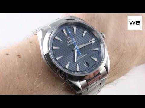 Omega Seamaster Aqua Terra 150m 220.10.41.21.03.002 Luxury Watch Reviews