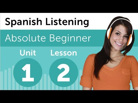 Luyện nghe tiếng Tây Ban Nha- Bài 2: Tại nhà hàng