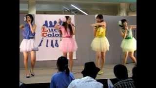 沖縄限定アイドルユニット RYUKYUダンシングドールズ Lucky Color's ラッキーカラーズ.