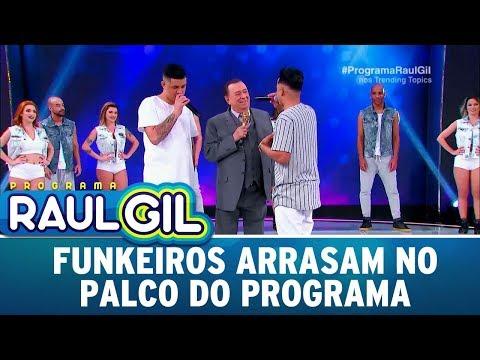 Funkeiros cantam sucessos e arrasam   Programa Raul Gil (23/09/17)