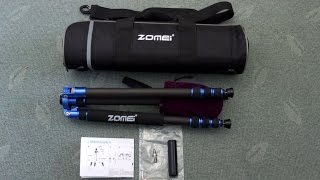 Zomei Z818C Travel Tripod Review - In depth look and test
