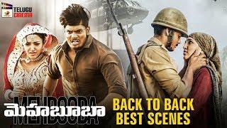 Mehbooba 2019 Latest Telugu Movie 4K | Puri Jagannadh | Back To Back Best Scenes | Akash Puri