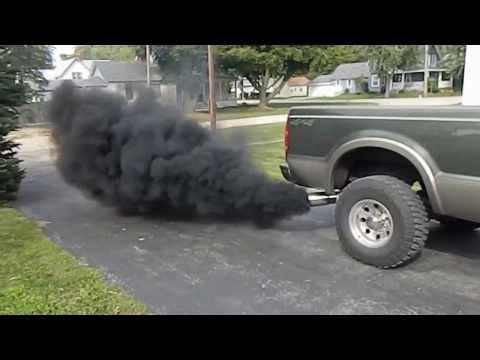 6.0 Motorluk Dodge Egzoz Dumanı