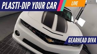 How to Plasti Dip Your Car | Gearhead Diva