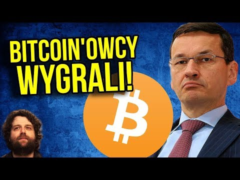 Zwycięstwo Bitcoin - Ministerstwo Finansów Się WYCOFUJE - Komentator