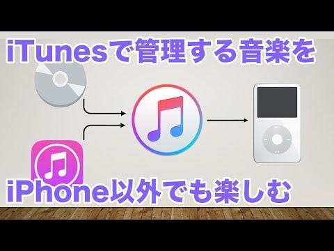 AppleのiTunesで購入した音楽ファイルを、iPhone/iPod以外でも聴く!(要PC or Mac)