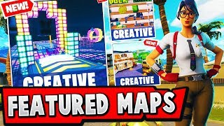 FEATURED Fortnite Creative Map CODES (How To Found them?)
