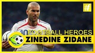 Zinedine Zidane | Football Heroes | Full Documentary