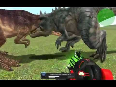 Gmod Dino Battle Part 3