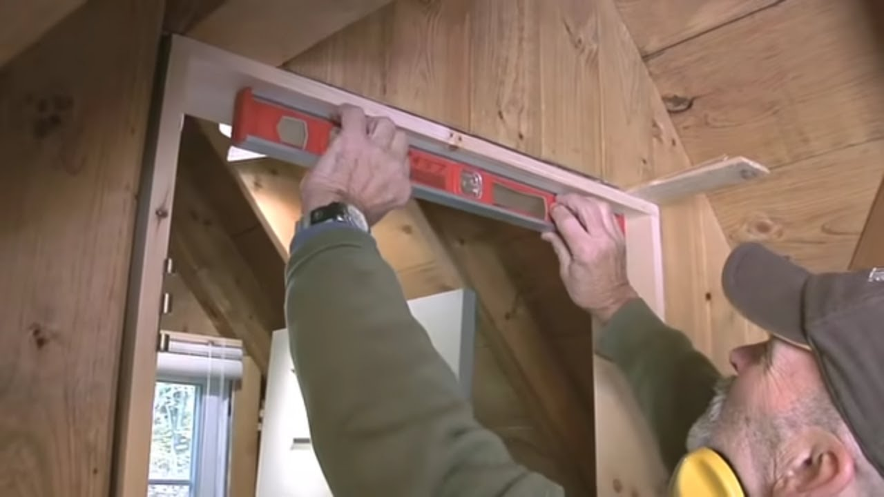 How to make a door frame youtube - How to install a prehung exterior door ...