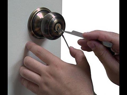 como abrir puerta de cuarto sin llave
