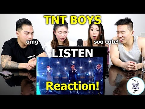 TNT Boys Sing Beyonce's Listen | Little Big Shots | Reaction - Australian Asians