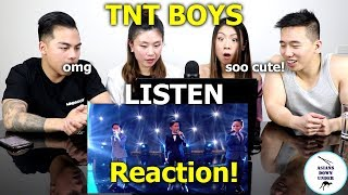 TNT Boys Sing Beyonce's Listen | Little Big Shots | Reaction - Australian Asians