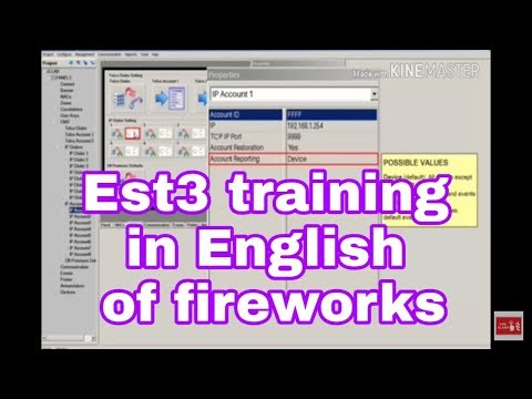 Edwards Fire Alarm System Programming Fireworks Software Training  In English