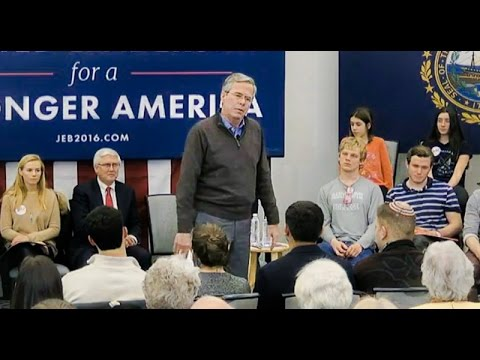 VIDEO: Jeb Bush Begs Crowd to Clap for Him