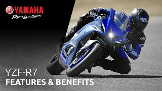 The 2022 YZF-R7 Features and Benefits