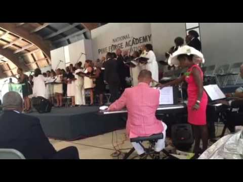 "Pine Forge Academy Alumni Choir ""We Shall Behold Him"""