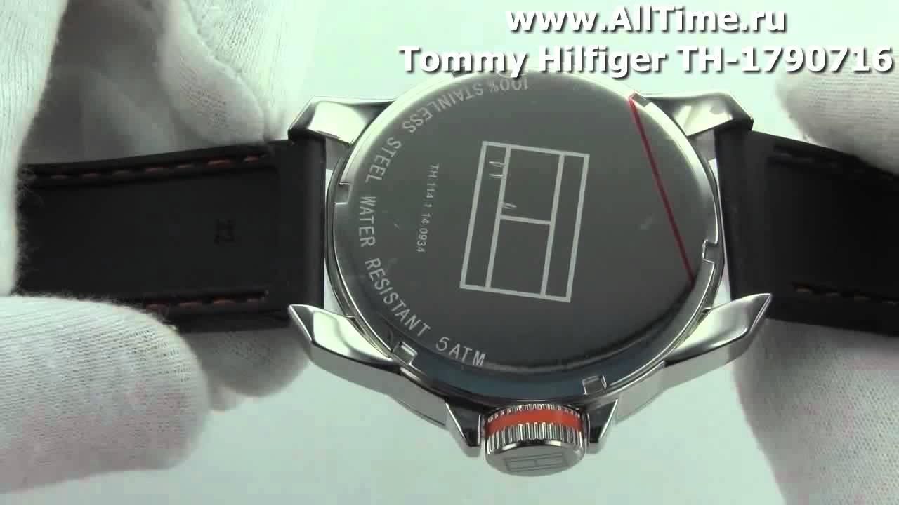 5a8590915 Мужские наручные fashion часы Tommy Hilfiger TH-1790716 - YouTube
