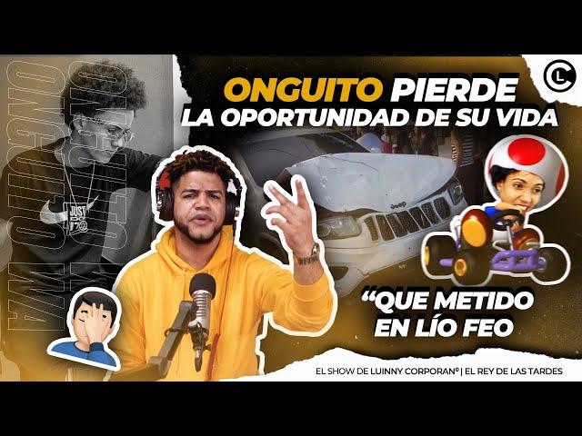 """ONGUITO PIERDE LA OPORTUNIDAD DE SU VIDA """"CHOCA OTRA GUAGUA"""" ALOFOKE SE QUITA Y ROCHY RD LO BUSCA"""