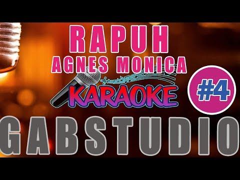 ✪ MINUS ONE ✪ Agnes Monica - RAPUH Karaoke Tanpa Vocal Versi Piano