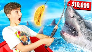 Who CATCHES The BIGGEST And MOST FISH WINS $10,000 **Family Challenge**
