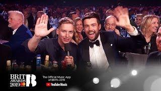 Jack Whitehall interviews George Ezra | The BRIT Awards 2019 Video