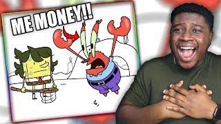 SPONGEBOB VIDEO GAME!   Strange Video Games I Played as a Kid Reaction!