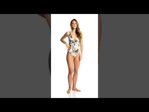 Somedays Lovin Coastal Roaming One Piece Swimsuit | SwimOutlet.com