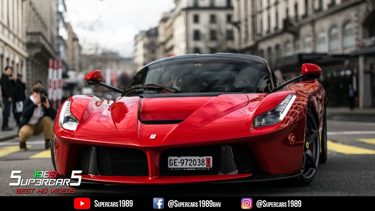 Ferrari Laferrari Incredible Sound Accelerations Exhaust Full Throttle