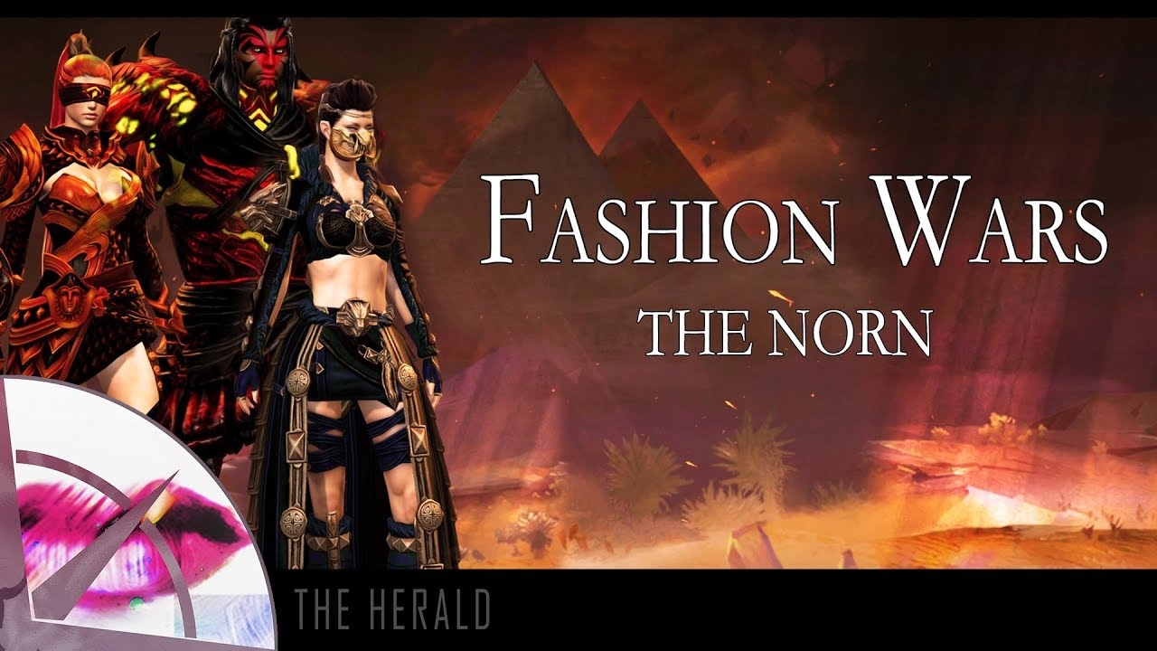 Guild Wars 2 | Fashion Wars Top Ten | The Norn | The Krytan Herald
