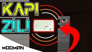 KAPI ZİLİ NASIL YAPILIR // MİNECRAFT PE