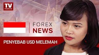 InstaForex tv news: Laporan Pekerjaan AS di hari Jumat Melemahkan Permintaan untuk USD  (08.10.2018)