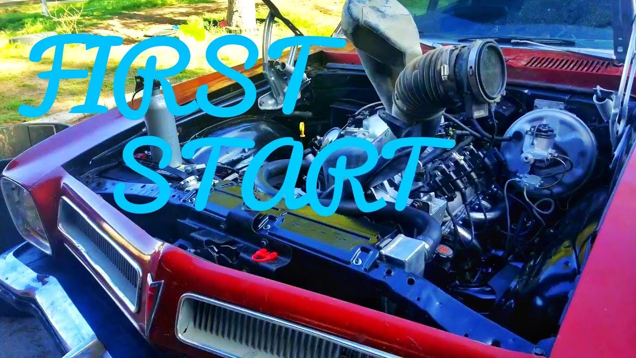 Ls Swap  First Start Up