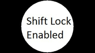 How to Enable Shift Lock in Roblox!