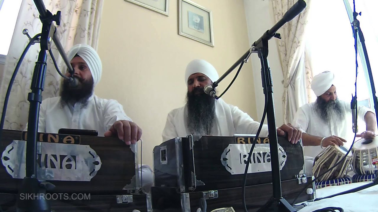 Sant Anoop Singh (Una Wale) - Kirtan - Alamo, California May 2nd 2015