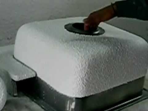 Sound Reducing Coating For Kitchen Sinks Sanitary Ware