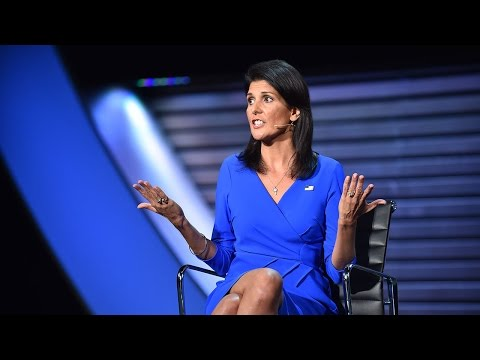 Nikki Haley on the famine in South Sudan