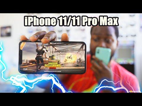 IPhone 11 & 11 Pro Max Gaming: Pubg Mobile & Apple Arcade!!!