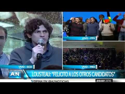 """Lousteau: """"Los porteños decidieron que haya balotaje"""""""